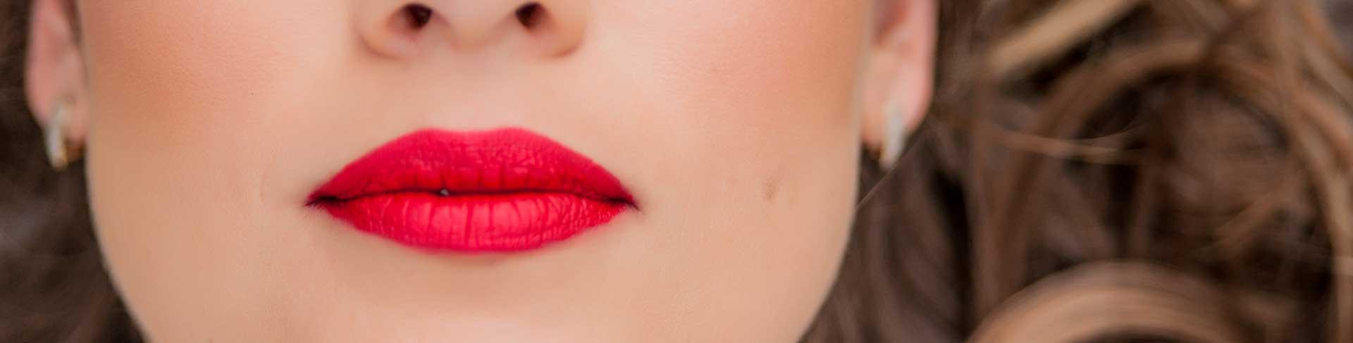 Lippenkurs rund um den Mund
