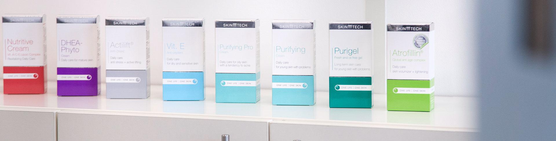 SkinTech Peeling, Mesoprodukte, sowie CheylaPEN